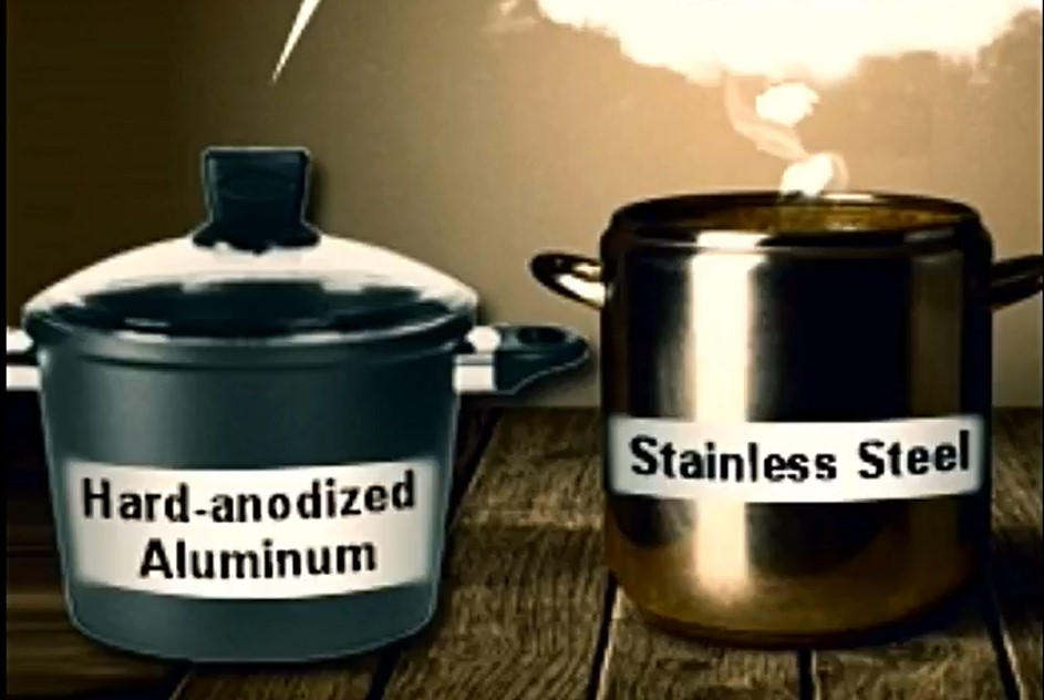 Hard Anodized vs Stainless Steel Cookware