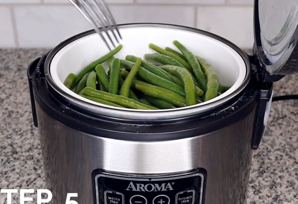 How To Steam Vegetable In A Rice Cooker Without Basket